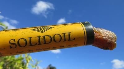 1960's Circa Nasco Solidoil Lubricant for Use on Car Fittings & Hinges Etc. Nati