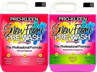 Snow Foam Pro-Kleen Car Pre-Wash Cleaning Shampoo pH Neutral Fast Delivery 10L