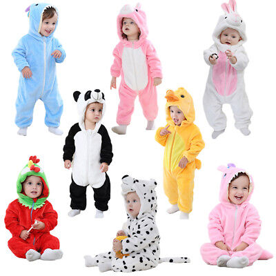 f644520a30 Baby Kid Toddler Animal Costume Boy Girl Zoo Jungle Fancy Dress Infant  Jumpsuit