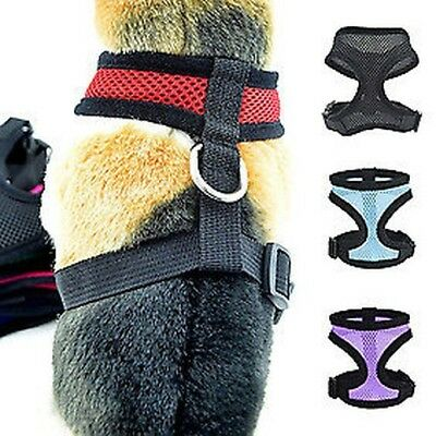 Animal Domestique Chien Chiot Walk Collier Maille Douce Protection Sangle Gilet
