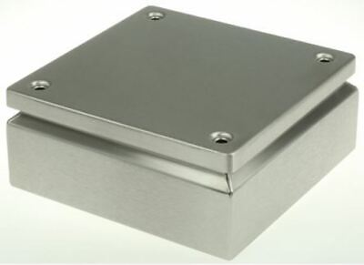 Rittal IP66, 304 Stainless Steel Wall Box 80mm x 200 mm x 200 mm