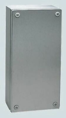 Rittal IP66, 304 Stainless Steel Wall Box 80mm x 300 mm x 200 mm