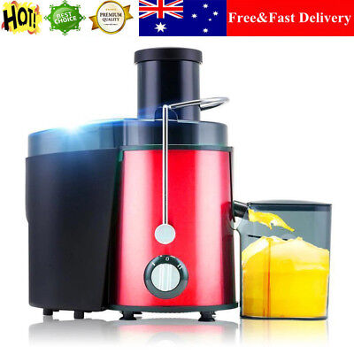 1L 400W Electric Stainless Steel Fruit Vegetable Juicer Machine Juice Extractor