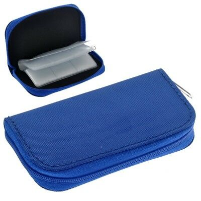 Portable 22 Slots SD SDHC MMC CF Micro SD Memory Card Holder Pouch Case Zi V5Y3