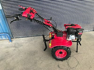 Einachsschlepper Cultivator Single-Axle Pin 900C 7.5PS with Cutter Wheels New