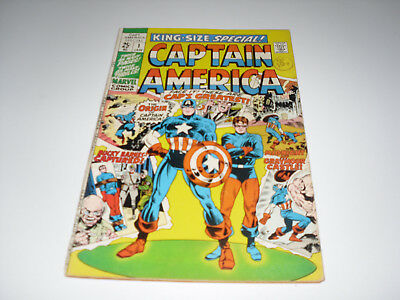 Captain America King Size Special 1 : VG/FN
