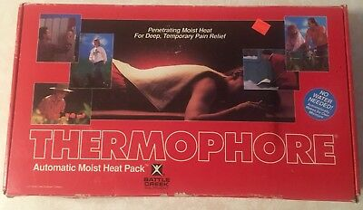 "Battle Creek Heating Pad Thermophore Therapy Pack Moist Heat 14"" x 27"""