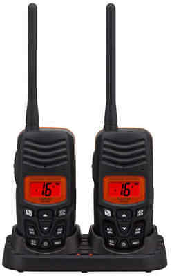 Standard HX-100 Hand Held VHF Twin Pack Of Radios