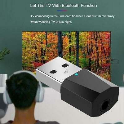 Mini Wireless Bluetooth Transmitter USB Audio Adapter Receiver Dongle For PC TV