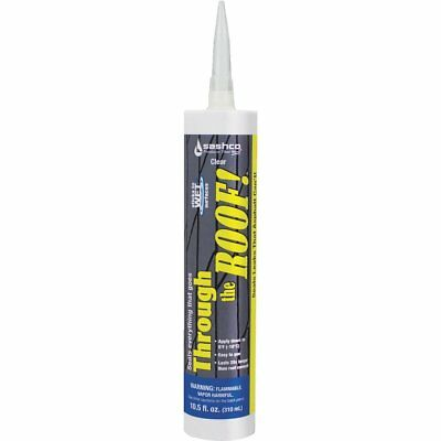 Through the Roof! Cement & Patching Sealant, Single, Part 14024, Sashco Sealants