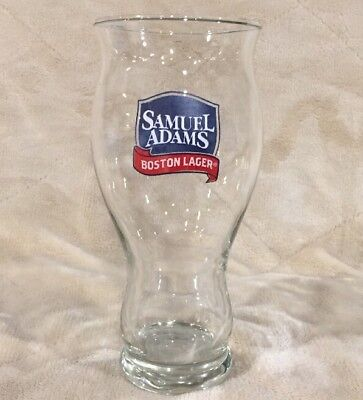 Samuel Sam Adams Boston Lager Love of Beer Sensory Pint Glass Cup Mug Stein Bar