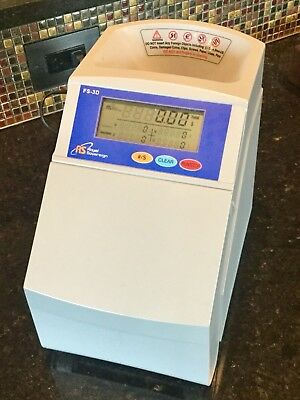 Royal Sovereign Machine Model FS-3D Digital Coin Sorter Counter Tested