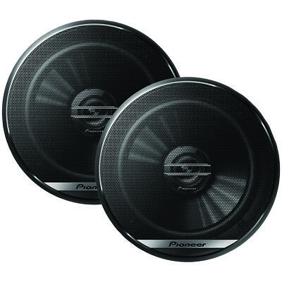 "Pioneer(R) TS-G1620F G-Series 6.5"" 300-Watt 2-Way Coaxial Speakers"