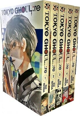 Tokyo Ghoul: Revised Edition Volume 1-5 Collection 5 Books Set Pack (Series 1)