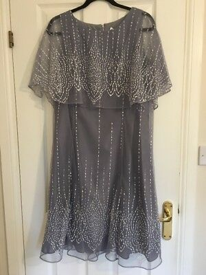NWT Stunning Wedding Guest Dress 16 Cost $129