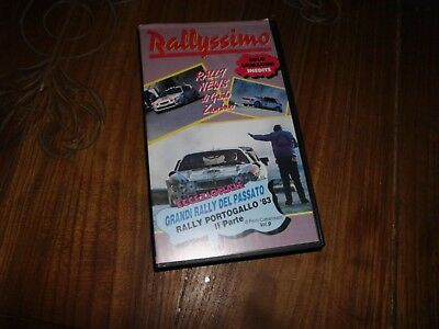 Vhs Rally Rallyssimo Fd Video A 3 N° 19 Speciale Portugal 1983 Parte 2