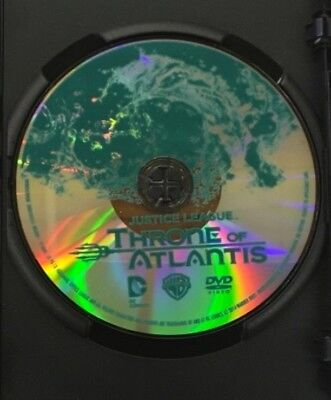 Justice League - Throne Of Atlantis   Dvd Movie: Dc Universe. Disc Only /no Case