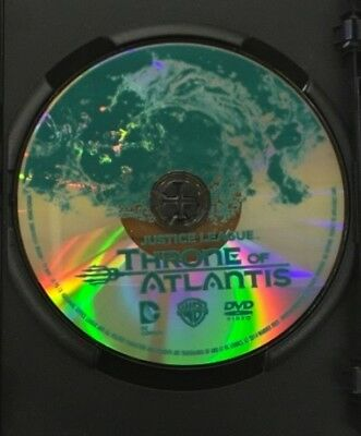 "Justice League: ""throne Of Atlantis""  Dvd Movie: Dc Universe. Disc Only /no Case"