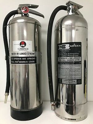 2.5 Gallon Water Fire Extinguishers - 2 Pack - Refillable - Perfect for Bonfires