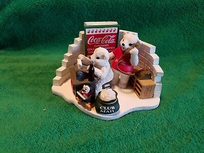 Coca Cola Polar Bear Cub Collection Limited Edition 1999 Heritage Collection