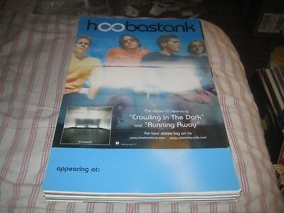 HOOBASTANK-(crawling in the dark)-1 POSTER-11X17 INCHES-NMINT-RARE!!!!