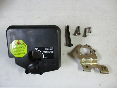 1978 johnson evinrude outboard motor airbox and choke hardware 25 hp