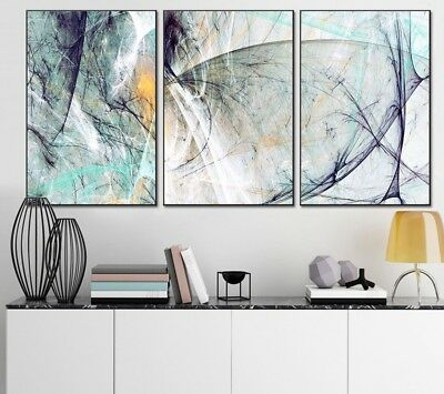 Landscape Abstract Canvas Paintings Modern Wall Art Poster Prints Nordic Room