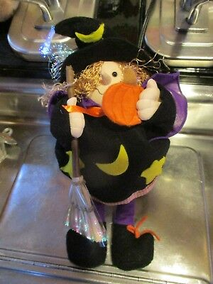 Halloween Avon Fiber Optic Witch Glowing New In Box Works