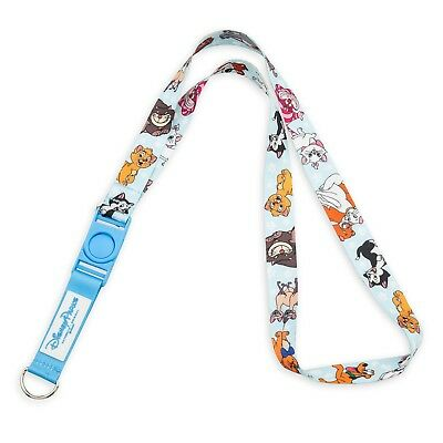 Disney Parks Cats and Dogs of Disney - Reversible Lanyard