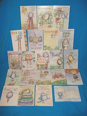 Greeting Cards Lot Of 20 Kats By Margaret Sherry