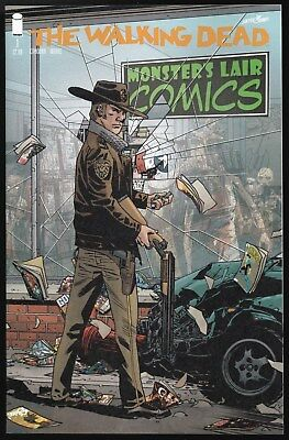 Walking Dead #1 Monsters Lair Comics store exclusive NM+ 15th anniversary