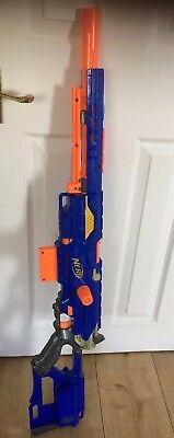 NERF Long strike CS-6 Sniper Rifle Darts Foam Ammo Magazine