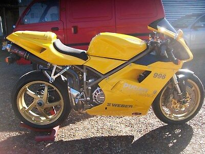 Ducati 996 1998 - 2 Owners, Full Service History Only 10K Miles