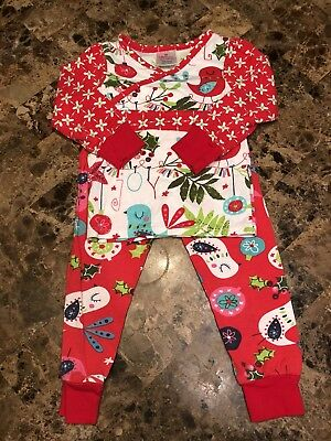 Jelly the Pug Noel Pajamas in Red & White 2T