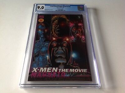 X Men Movie Prequel Magneto Nn Cgc 9.0 Dynamic Forces Variant Marvel Comics