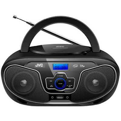 JVC Portable CD Player with Bluetooth