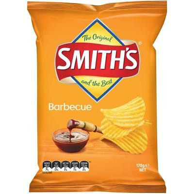Smith's Barbecue Crinkle Cut Chips 170g