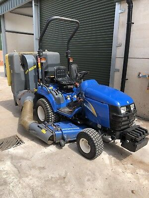 New Holland Compact Mower Tractor