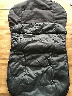 Mothercare Grey All Weather Cosytoe/ Footmuff - Excellent Condition