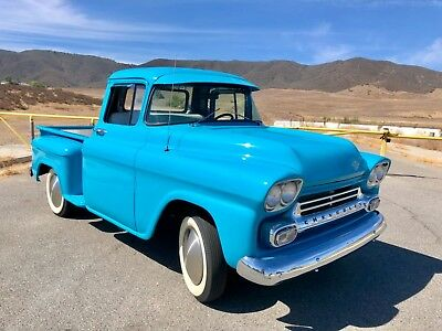 1958 Chevrolet Other Pickups C10 1958 Chevrolet Apache Step Side Pickup Truck Southern California Hot Rod Truck