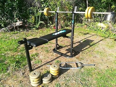 York fitness 6605 weights bench