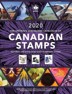 2019 Unitrade Specialized Catalogue of Canadian Stamps - Retail $52.95