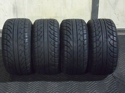 ( SET 4 ) 205/50-10 Golf Cart Tires DOT Street Legal for EZGO, Club Car, Yamaha