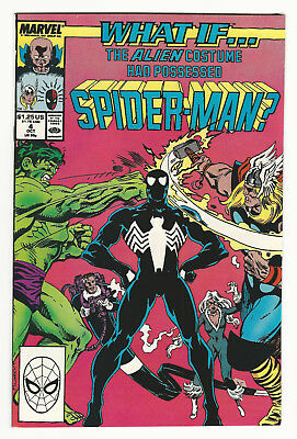 What If? #4 The Alien Costume Had Possessed Spider Man? KEY Early Venom Amazing