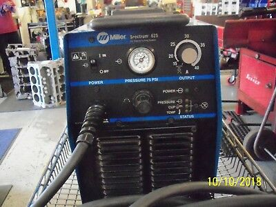 Miller 625 Spectrum Plasma Cutter *******only Used Twice********