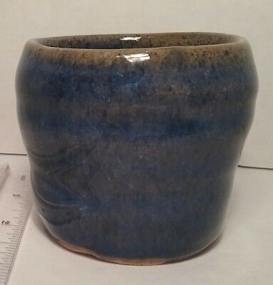 Handcrafted Pottery Japanese Asian Style Tea Cup Sake Mug Matcha Wabi Sabi