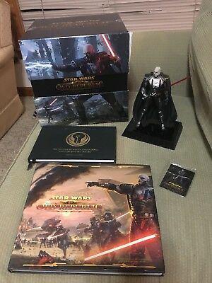 Star Wars The Old Republic Collectors Edition - Incomplete - Selling As Is
