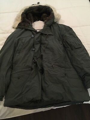 US Military Extreme Cold Weather Type N-3B Hooded Parka