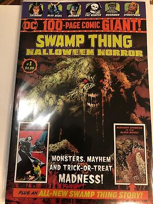 Swamp Thing DC Comics 100 page giant SWAMP THING Halloween Horror WalMart