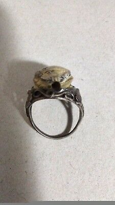 Ancient Egyptian Egypt antique RING with Scarab